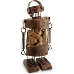 EPIC PRODUCTS Steampunk Robot Cork Cage Brown